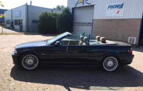 Spuiten BMW