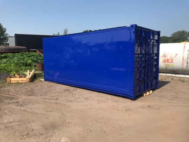 MSC container spuiten