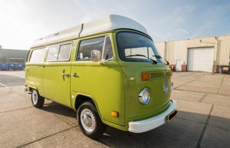 Spuiten VW Camper